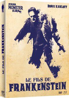 Le Fils de Frankenstein - Jaquette Combo DVD + Blu-ray 3D