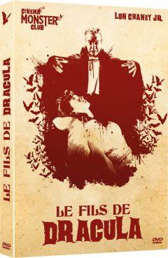 Le Fils de Dracula - Jaquette DVD 3D