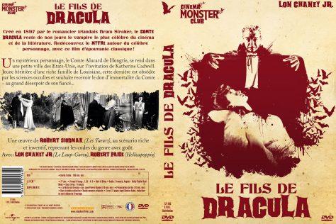 Le Fils de Dracula - Jaquette DVD recto verso