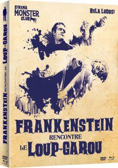 Frankenstein rencontre le loup-garou - Jaquette Combo 3D