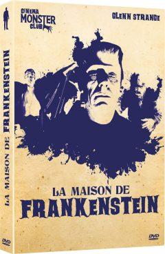 La Maison de Frankenstein - Jaquette DVD 3D