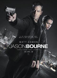 Jason Bourne - Affiche FR