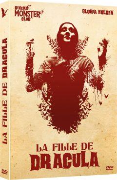La Fille de Dracula - Jaquette DVD 3D
