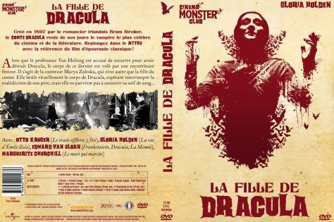 La Fille de Dracula - Jaquette DVD recto verso