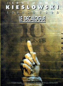 Le Décalogue - Affiche 1988