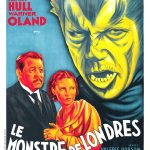 Le Monstre de Londres - Affiche FR