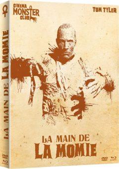 La Main de la momie - Jaquette combo 3D