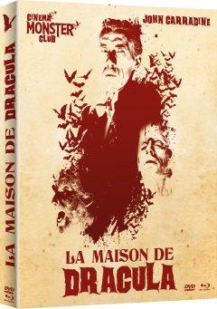 La Maison de Dracula - Jaquette Combo 3D