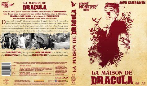 La Maison de Dracula - Jaquette Combo recto verso
