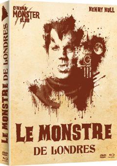 Le Monstre de Londres - Jaquette Combo 3D