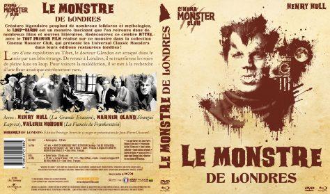 Le Monstre de Londres - Jaquette Combo recto verso
