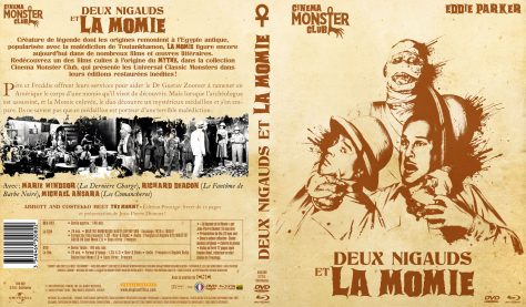 Deux Nigauds et la Momie - Jaquette Combo Recto verso