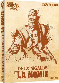 Deux Nigauds et la Momie - Jaquette Combo 2D