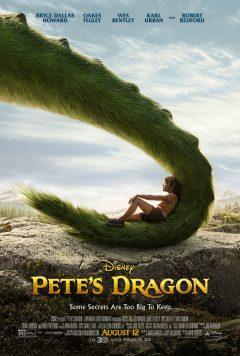 Pete's Dragon (Peter et Elliott le Dragon) - Affiche US