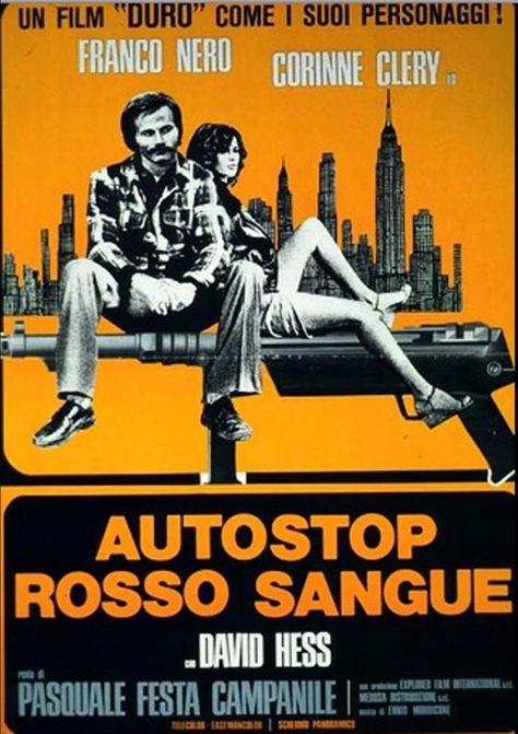 La Proie de l'autostop - Affiche italienne d'époque