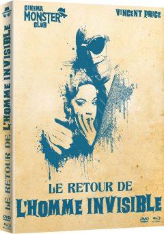 Le Retour de l'Homme invisible - Recto jaquette 3D Blu-ray