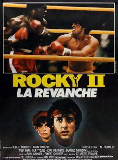 Rocky II - Affiche France