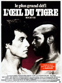 Rocky III - Affiche France