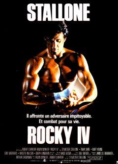 Rocky IV - Affiche France