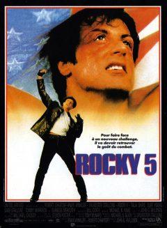 Rocky V - Affiche France