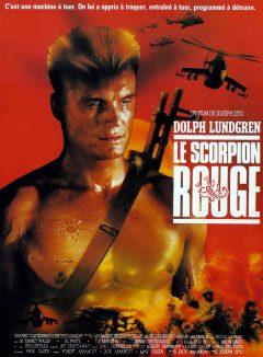 Le Scorpion rouge - Affiche France