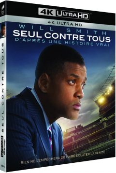 Seul contre tous (Will Smith) - Packshot Blu-ray 4K Ultra HD