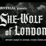 She-Wolf of London - Capture DVD