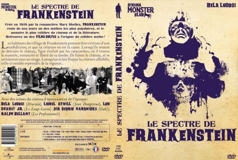 Le Spectre de Frankenstein - Jaquette DVD recto verso