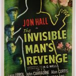 La Vengeance de l'Homme invisible - Affiche US
