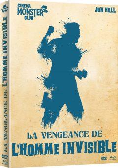 La Vengeance de l'Homme invisible - Recto jaquette combo 3D