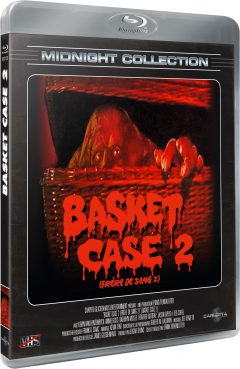 Basket Case 2 (Frère de sang 2) - Midnight Collection - Packshot Blu-ray