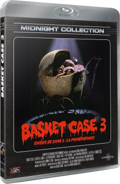 Basket Case 3 (Frère de sang 3 : La Progéniture) - Midnight Collection - Packshot Blu-ray