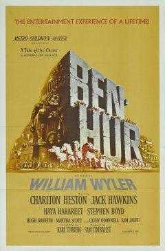 Ben-Hur (1959) - Affiche US
