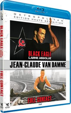 Black Eagle / Full Contact (Van Damme) - Packshot Blu-ray