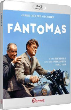 Fantomas (Louis De Funès / Jean Marais) - Packshot Blu-ray Gaumont Découverte
