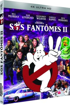 Ghostbusters 2 (S.O.S. Fantômes 2) - Packshot Blu-ray 4K Ultra HD