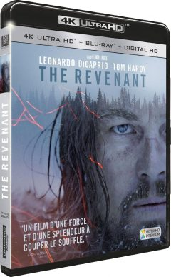The Revenant de Alejandro González Iñárritu - Packshot Blu-ray 4K Ultra HD