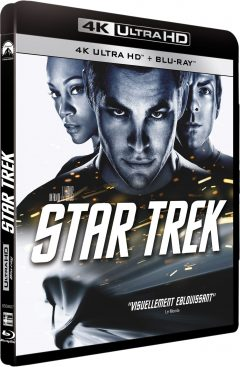 Star Trek (2009) de J.J. Abrams - Packshot Blu-ray 4K Ultra HD