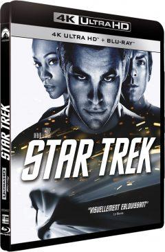 Star Trek (2009) de J.J. Abrams - Packshot Blu-ray 4K Ultra HD