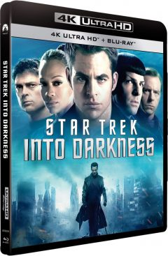 Star Trek Into Darkness (2013) de J.J. Abrams - Packshot Blu-ray 4K Ultra HD
