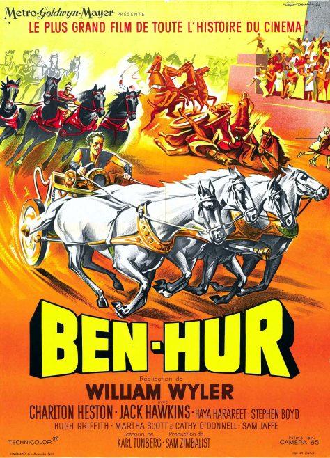 Ben-Hur (1959) - Affiche FR