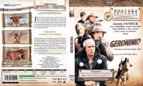 Geronimo - Jaquette Blu-ray recto verso
