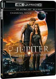 Jupiter : Le destin de l'univers - Packshot Blu-ray 4K Ultra HD