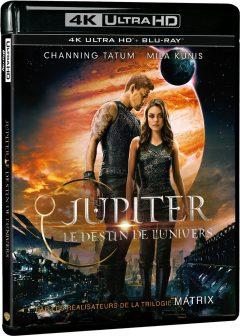 Jupiter : Le destin de l'univers - Packshot Blu-ray 4K Ultra HD