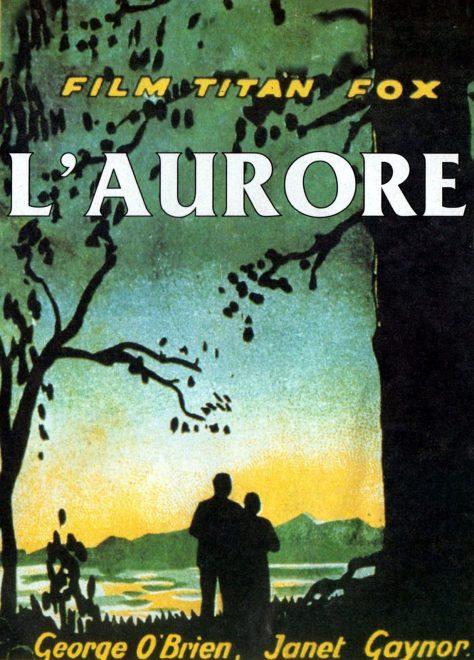 L'Aurore - Affiche 1927