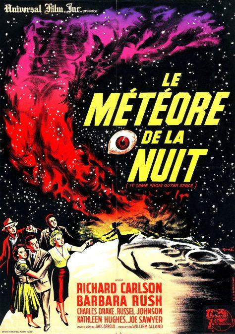 Le Météore de la nuit - Affiche FR