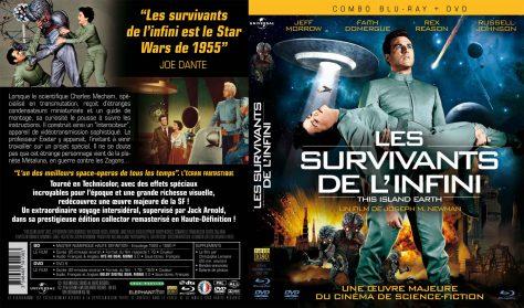 Les Survivants de l'infini - Jaquette Combo Resto Verso