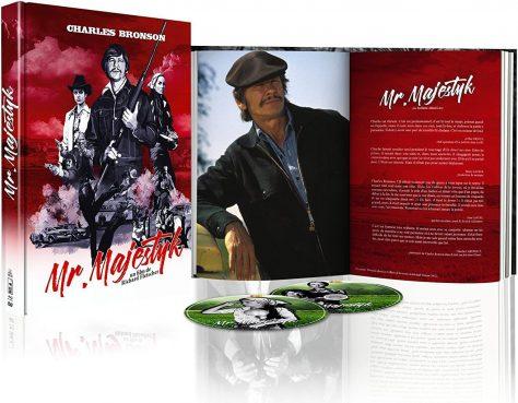 Mr. Majestyk - Édition Collector Blu-ray + DVD + Livre - Packshot Blu-ray