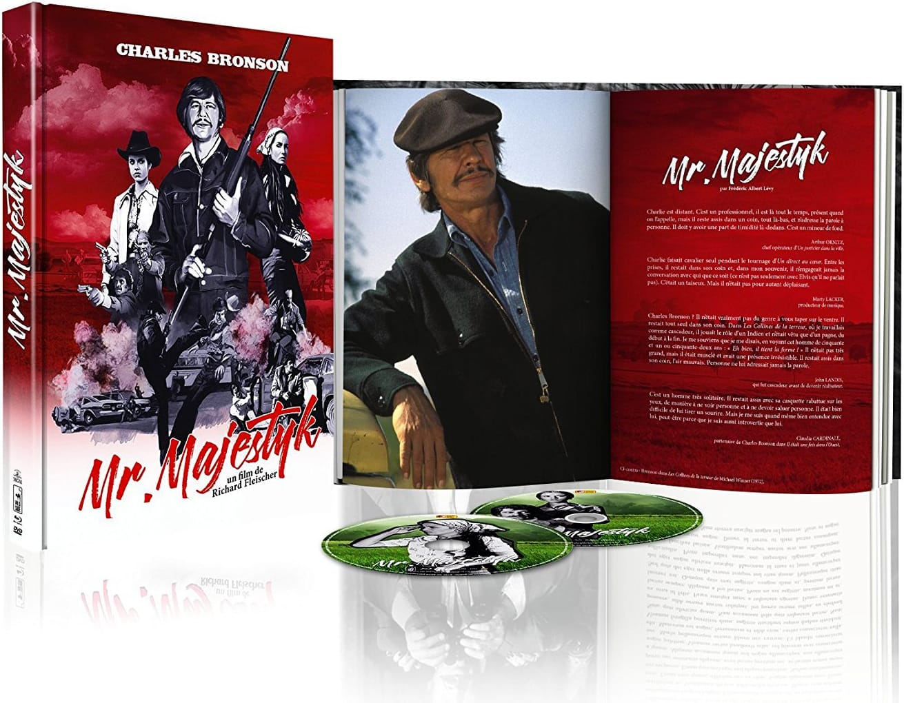 Mr. Majestyk - Édition Collector Blu-ray + DVD + Livre - Packshot Blu-ray