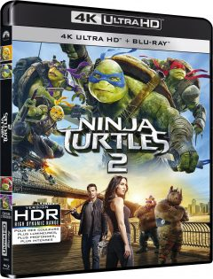 Ninja Turtles 2 - Packshot Blu-ray 4K Ultra HD